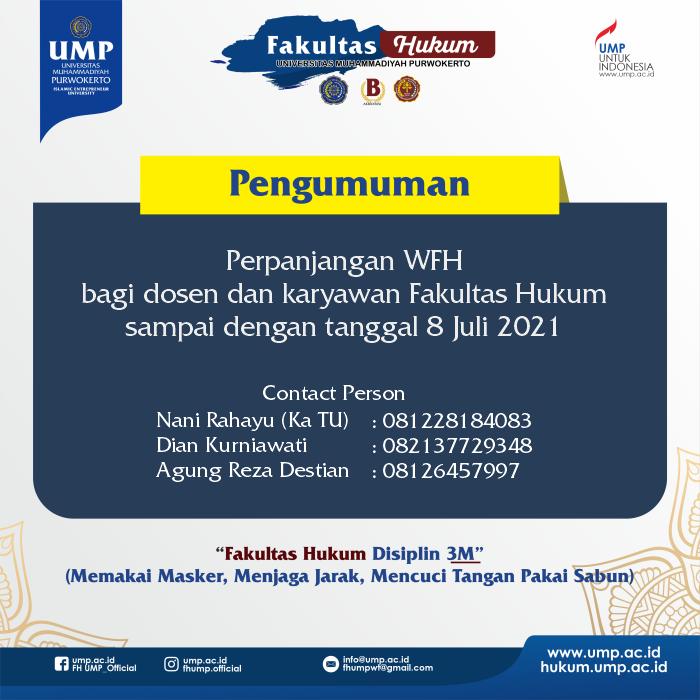 Perpanjangan WFH
